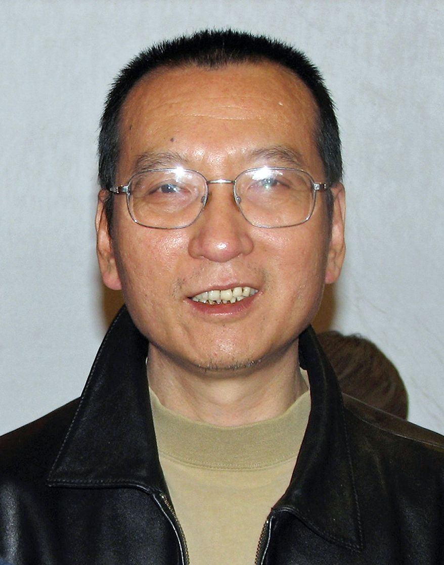 Associated Press Imprisoned Chinese dissident Liu Xiaobo, seen here in November 2007, recently won the Nobel Peace Prize. The Nobel's website was hacked Tuesday, and some suspect Chinese involvement.