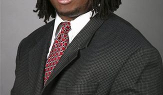 """This undated photo provided by Rutgers University shows football player Eric LeGrand.  The New Jersey Nets are donating $75,000 to a fund to help paralyzed Rutgers' football player Eric LeGrand. The teams says it is giving the money to the """"Eric LeGrand Believe Fund"""" to raise awareness of the player's plight. (AP Photo/Rutgers University)"""