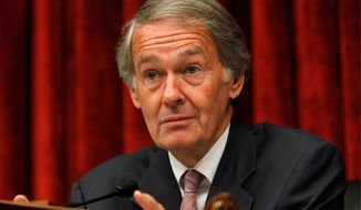 **FILE** Rep. Edward J. Markey, Massachusetts Democrat