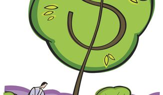 Illustration: Money tree