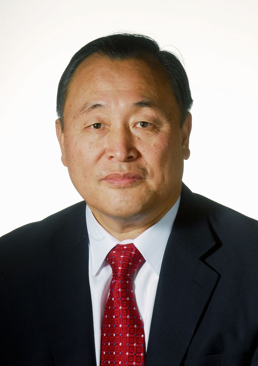 Douglas D.M. Joo (J.M. Eddins Jr./The Washington Times)