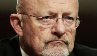 **FILE** Director of National Intelligence James Clapper (Associated Press)