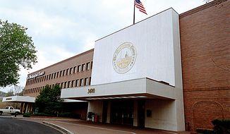 **FILE** The Washington Times' building on New York Avenue in Washington, D.C. (The Washington Times)