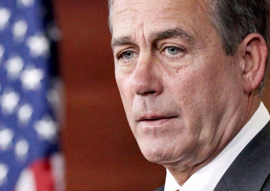 John A. Boehner (Associated Press)
