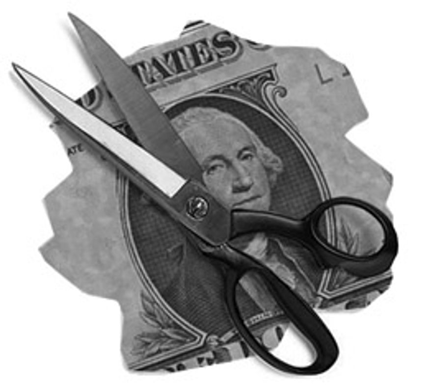 Illustration: Spending cuts