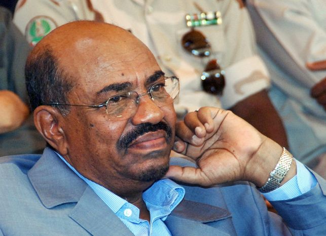 **FILE** Sudanese President Omar al-Bashir (Associated Press)