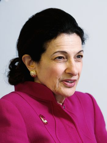 """Sen. Olympia J. Snowe, Maine Republican, could face a """"tea party"""" primary challenger from the right in 2012. (Associated Press)"""