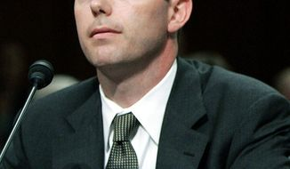 The jury for Kevin A. Ring, seen in 2005, is deadlocked. He is charged with providing gifts to politicians in exchange for favors. (Associated Press)