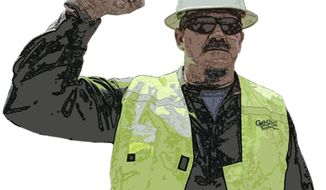 Illustration: Jeff Hart by Greg Groesch for The Washington Times