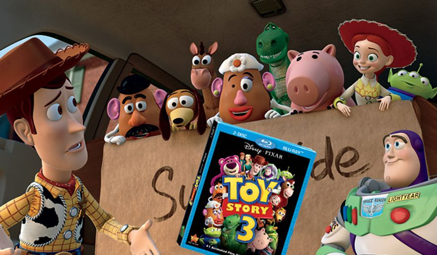 Toy Story 3 is on Blu-ray from Walt Disney Home Entertainment.