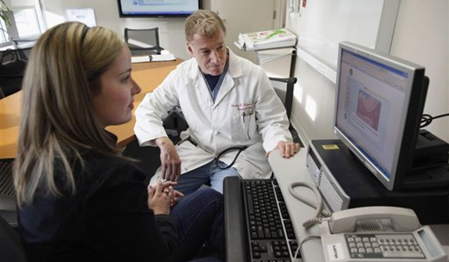 A computer program was able to confirm benign polyps in the colon 96 percent of the time with 94 percent accuracy, researchers found. (Associated Press/File)