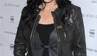 FILE - In this Feb. 16, 2010 file photo, actress Shannen Doherty attends the G-Star Fall 2010 collection, in New York. (AP Photo/Peter Kramer, file)