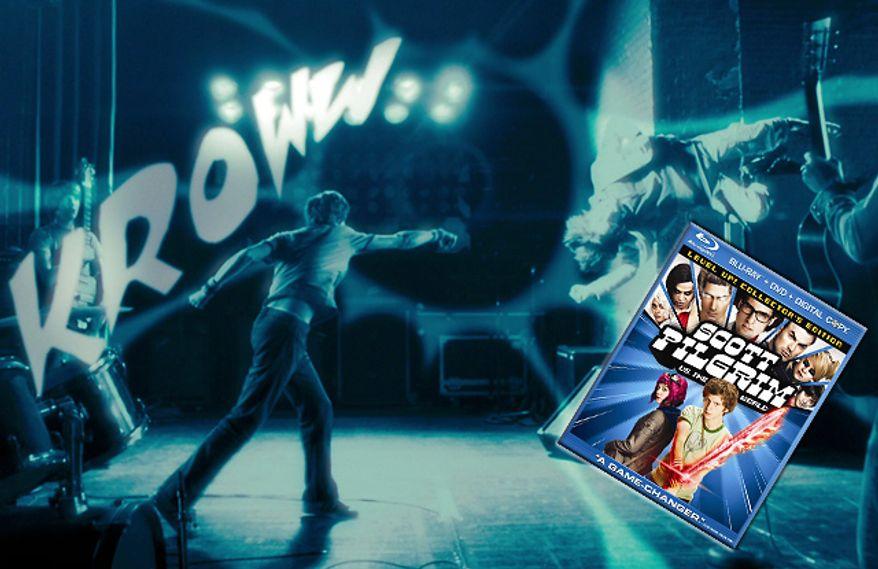 Scott Pilgrim vs. the World from Universal Studios Home Entertainment is now on Blu-ray.