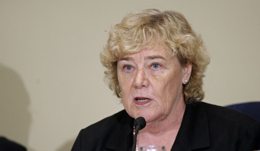 Rep. Zoe Lofgren, California Democrat. (AP Photo/Cliff Owen) ** FILE **