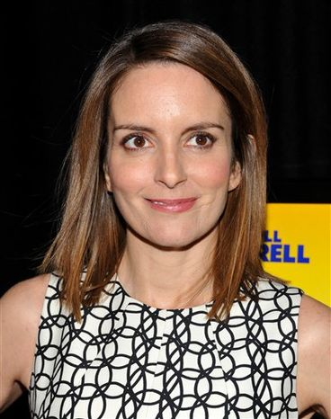 """FILE - In this Nov. 3, 2010 file photo, actress Tina Fey attends the """"Megamind"""" film premiere in New York. (AP Photo/Evan Agostini, file)"""