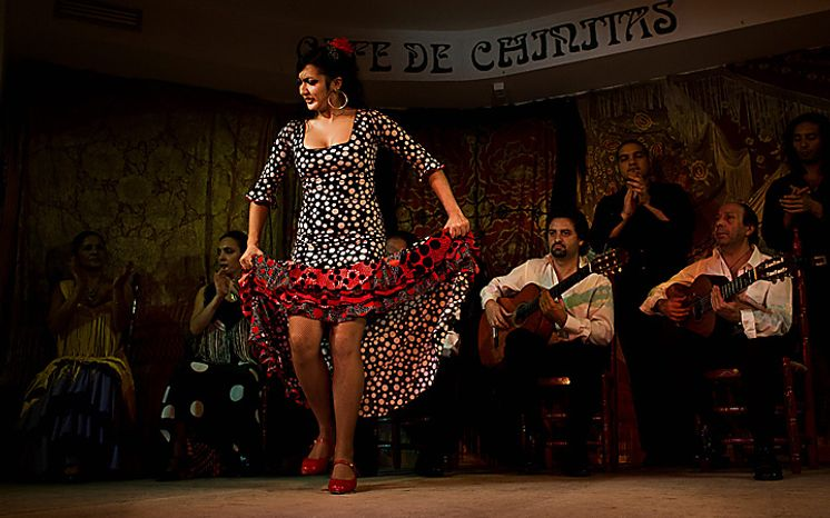 In this photo taken on Saturday, Nov. 13, 2010, flamenco dancer Sole performs in the renowned Cafe de Chinitas Tablao Restaurant in Madrid. Spain's flamenco dance is among 51 proposals to be considered for inclusion on two UNESCO intangible cultural heritage lists. The Paris-based U.N. organization said that Tuesday Nov. 16 meeting in Nairobi, Kenya, will determine which of the proposals make the final cut. Thirty-one countries on four continents fielded proposals. (AP Photo/Victor R. Caivano)