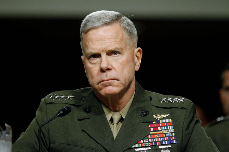 **FILE** U.S. Marine Corps Gen. James F. Amos (Associated Press)