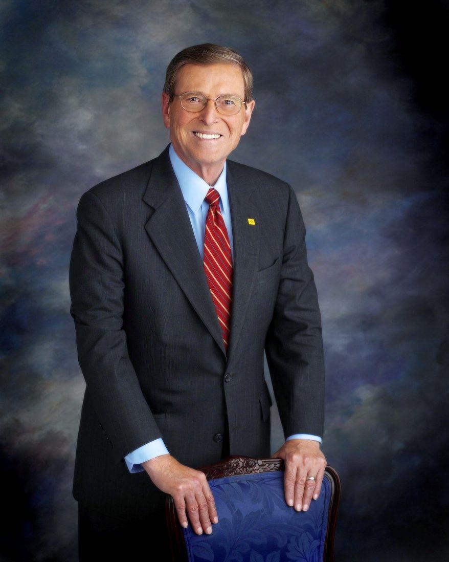 "U.S. Congress Sen. Peter V. Domenici, co-chairman of the task force, calls the growing deficit ""a quiet killer."""