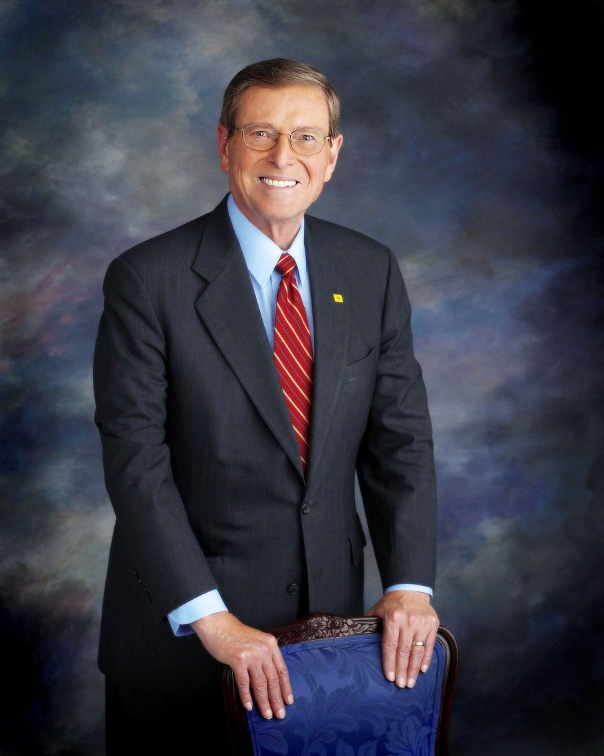 "U.S. Congress Sen. Peter V. Domenici, co-chairman of the task force, calls the growing deficit ""a quiet killer."""