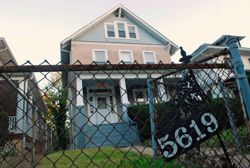 The Dupree House, a Department of Youth Rehabilitation Services-licensed group home for troubled youths on Colorado Avenue in Northwest Washington, is an unassuming single-family residence with a stucco exterior and waist-high chain-link fence. (Photograph by J.M. Eddins Jr./The Washington Times)