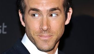 FILE - In this Sept. 16, 2010 photo shows Actor Ryan Reynolds at a special screening of 'Buried' hosted by the Cinema Society at the Tribeca Grand Hotel  in New York. (AP Photo/Evan Agostini, File)