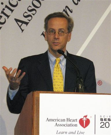 An undated photo provided by Dr. Christopher Cannon shows Dr. Christopher Cannon of Brigham and Women's Hospital in Boston. Cannon is the leader of a study on an experimental Merck drug that safely boosted good cholesterol to record highs while dropping bad cholesterol to unprecedented lows in a study that stunned researchers and renewed hopes for an entirely new way of lowering heart risks. The study results were presented Wednesday, Nov. 17, 2010 at an American Heart Association conference in Chicago. (AP Photo/Dr. Christopher Cannon)  NO SALES