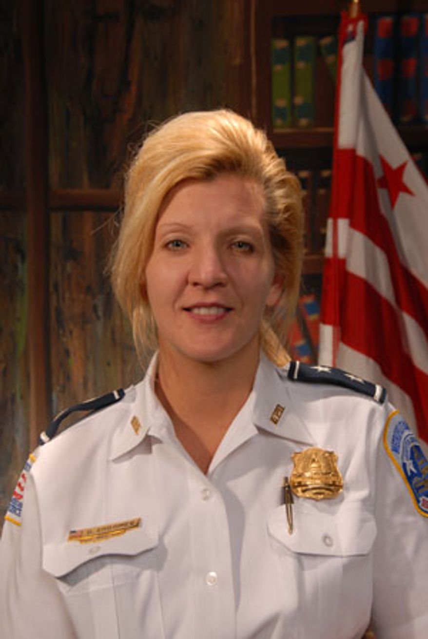 Assistant Chief Diane Groomes. (Courtesy of the Metropolitan Police Department)