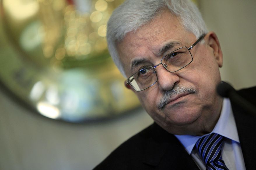 Palestinian Authority President Mahmoud Abbas (Associated Press)