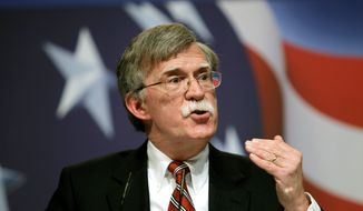 ** FILE ** Former U.N. Ambassador John R. Bolton (Associated Press)