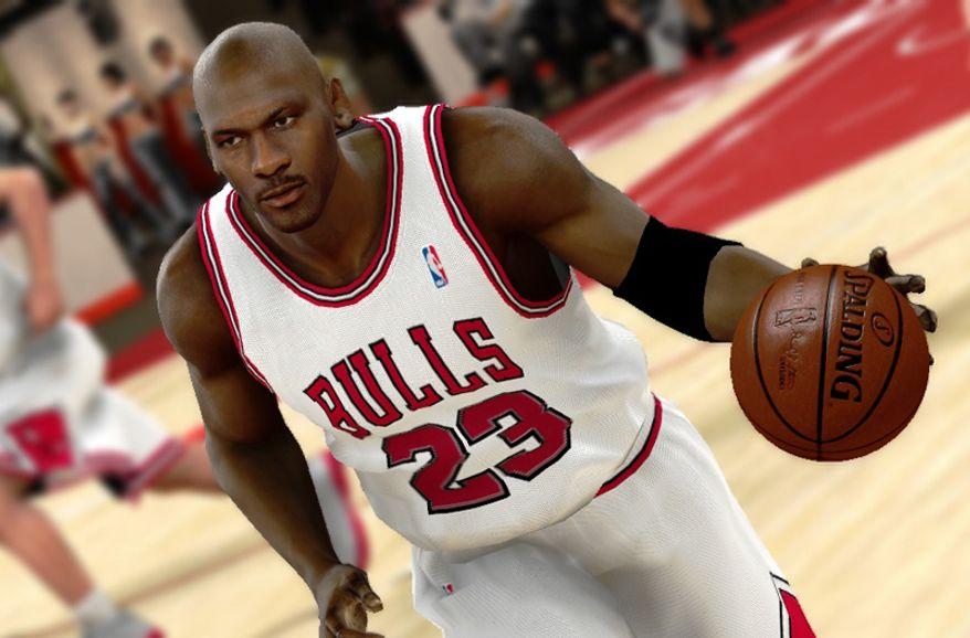 Michael Jordan stars in NBA 2K 11 from 2K Sports