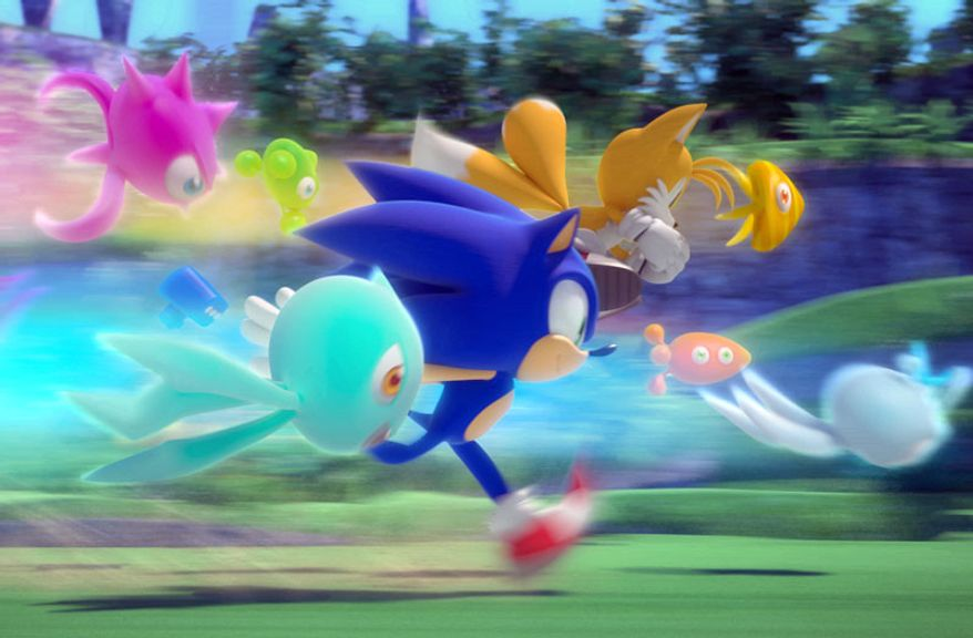 Sonic Colors from Sega is available for the Wii.