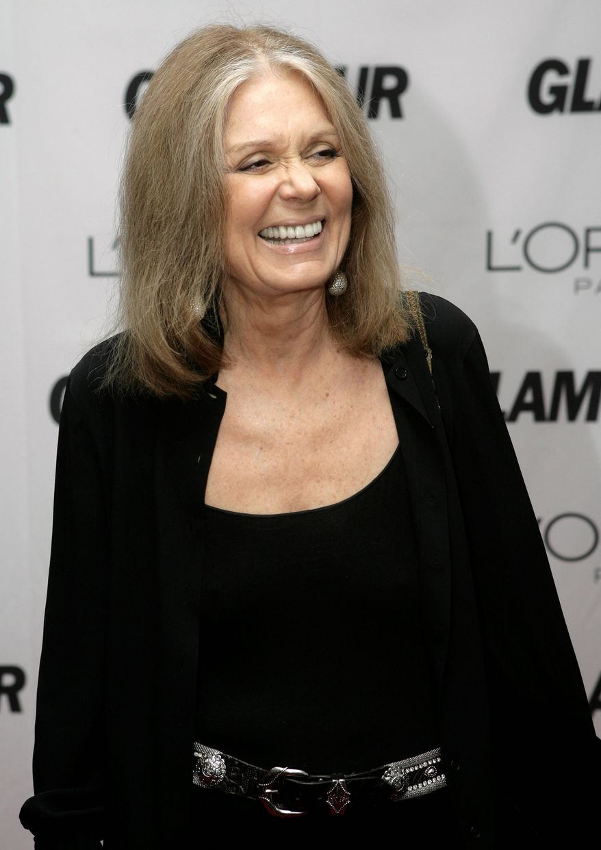 Feminist Gloria Steinem claims conservative women are beset by a political form of Stockholm syndrome. (Associated Press)