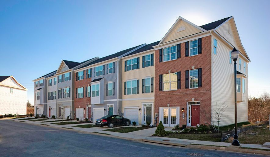 Beazer Homes is building 141 town homes at Greenfield at Collegiate Acres in Hagerstown. The Morgan model home has 1,804 finished square feet, with base prices from $165,990.