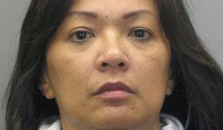 ** FILE ** This handout photo provided by Fairfax County, Va., Police Department shows Carmela Dela Rosa. A toddler has died after police say she was thrown off a shopping mall walkway in Virginia by a woman believed to be her grandmother. Dela Rosa of Fairfax was arrested and charged with aggravated malicious wounding; the charge will be amended to murder now that the girl, Angelyn Ogdoc, has died. (AP Photo/Fairfax County, Va., Police Department, (File)