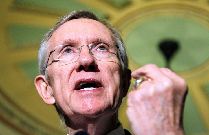 Associated Press Senate Majority Leader Harry Reid, Nevada Democrat, on Wednesday said he is pushing for a vote as soon as possible on the Dream Act, an immigration-related measure.