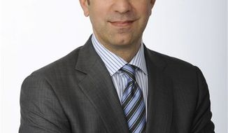 "In this publicity image released by ABC, Ben Sherwood is shown. ABC has selected Sherwood, a former producer of ""Good Morning America"" who left to write novels and start a website, as its news division president. He replaces David Westin, who announced earlier in the fall that he would be stepping down after 14 years. (AP Photo/ABC, Ida Mae Astute)"