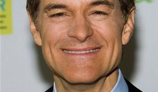 "FILE - In this May 8, 2010 file photo, Dr. Mehmet Oz attends the 10th anniversary ""Live Your Best Life"" celebration for ""O, The Oprah Magazine"" in New York. (AP Photo/Charles Sykes, file)"