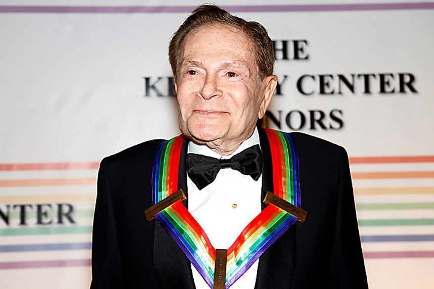 Kennedy Center honoree Jerry Herman walks the red carpet at the Kennedy Center Honors in Washington on Sunday, Dec. 5, 2010. (AP Photo/Jacquelyn Martin)