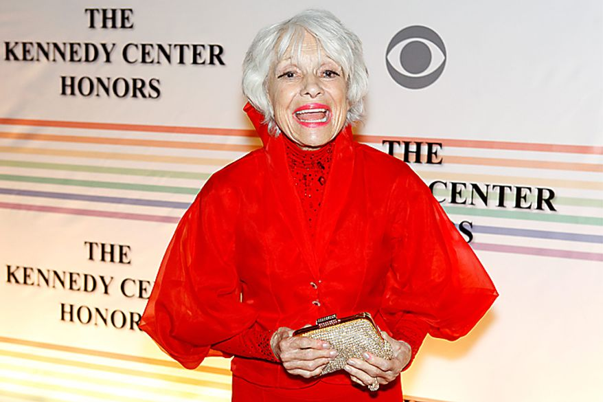 Broadway star Carol Channing walks the red carpet at the Kennedy Center Honors in Washington on Sunday, Dec. 5, 2010. (AP Photo/Jacquelyn Martin)