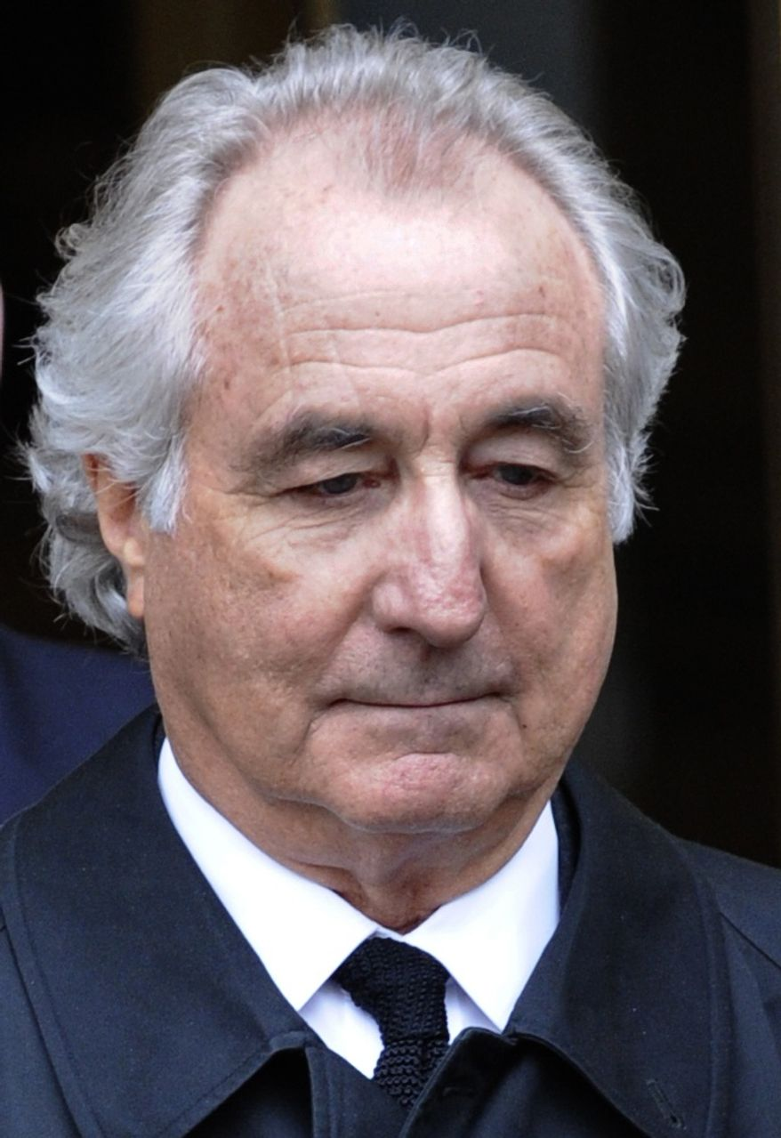 **FILE** Bernard Madoff (Associated Press)
