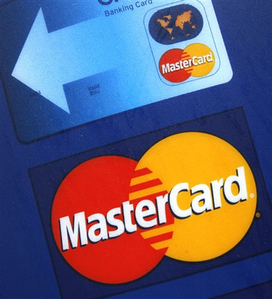 This screen shot shows the home page of Mastercard.com. Mastercard is having severe technical problems Wednesday, Dec. 8, 2010, possibly a target by supporters of WikiLeaks founder Julian Assange. (AP Photo/Mastercard.com)