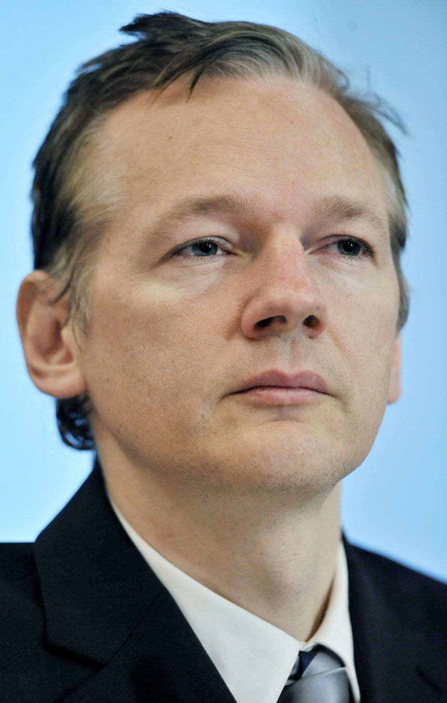 Julian Assange (Associated Press)