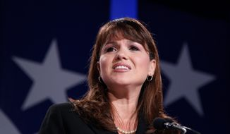 Former Senate candidate Christine O'Donnell, Delaware Republican. (Associated Press) ** FILE **