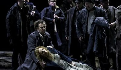 In this undated photo made available by the Royal Opera House in London Monday Dec. 13, 2010 Johan Botha is seen as Tannhauser in the Royal Opera House, Covent Graden, production of the same name. (AP Photo/Clive Barda/Royal Opera House-ho) EDITORIAL USE ONLY, NO SALES.
