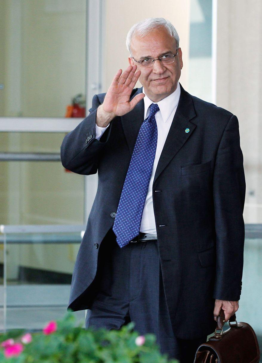 Saeb Erekat (Associated Press)