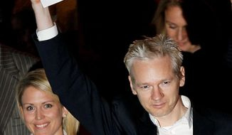 """ASSOCIATED PRESS WikiLeaks founder Julian Assange is released on bail in London. House Judiciary Committee Chairman John Conyers Jr. says repeated calls for his prosecution in the U.S. makes him """"uncomfortable."""""""