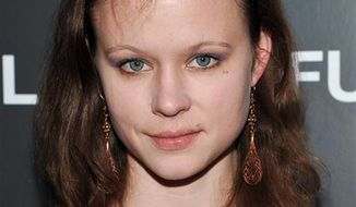 """FILE - In this Dec. 1, 2010 file photo, actress Thora Birch attends a special screening of """"Biutiful"""" hosted by The Cinema Society at The Lighthouse Theater in New York. (AP Photo/Evan Agostini, file)"""