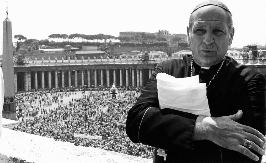 """Archbishop Paul C. Marcinkus, a former head of the Vatican Bank, was the inspiration for Archbishop Gilday in """"Godfather III."""""""