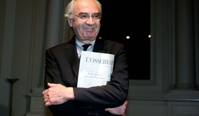ASSOCIATED PRESS PHOTOGRAPHS Ettore Gotti Tedeschi, chairman of the Vatican bank, holds a copy of the Vatican newspaper L'Osservatore Romano. Behind the centuries-old facade of the Institute for Religious Works is a history of secrecy and scandal. In past decades, two Vatican financial advisers died in the strangest of circumstances - one from drinking a cup of cyanide-laced coffee in prison, the other dangling from a rope under London's Blackfriars Bridge, his pockets stuffed with money and stones.