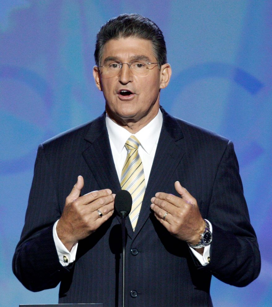 Sen. Joe Manchin III, West Virginia Democrat (AP Photo)